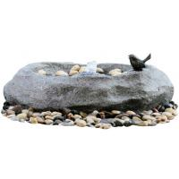 Quality Fiberglass / Resin Material Cast Stone Fountains For Garden Ornaments wholesale