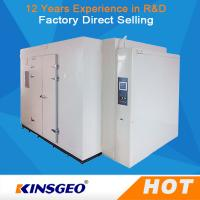 Quality Multi Function Walk In Temperature Humidity Test Chamber WIth Ni-Cr Electric Heater wholesale