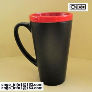Quality hot sale the fashion big Chalk Mug free your hand wholesale16oz Ceramic Chalk Mugs cups wholesale