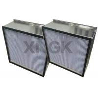 Quality Deep Pleated Hepa Cabin Air Filter,Hepa Room Air Filter With Aluminum Separator wholesale