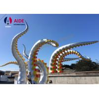 Quality Customed Outdoor Holiday Inflatables Large Blow Up Octopus Festival Event wholesale