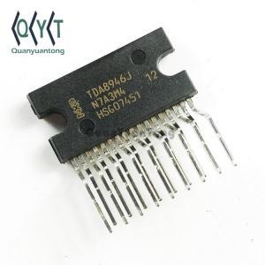 China Audio Amplifier IC List Class AB Power Amplifier Class AB DBS17P TDA8946J IC Power Amplifier 2 Channel BTL Audio AMP 15W TDA8946 on sale
