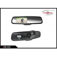 Quality 4.3 Inch Rear View Mirror Backup Camera System With High Reflective Rate wholesale