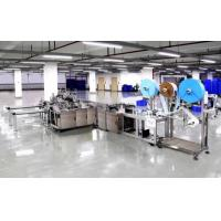 Quality Automatic Surgical Face Mask Making Machine , Non Woven Mask Making Machine wholesale