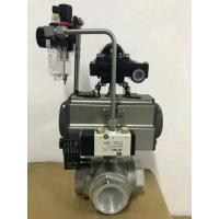 China Ball Valve With Pneumatic Actuator  at pneumatic actuator price on sale