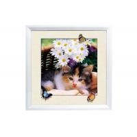 Cheap 5D House decorative Picture 3D Lenticular Printing Service CMYK Offset Printing for sale