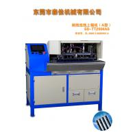 Buy cheap Wire Cable Cutting And Stripping Machine AC220V / 50Hz 0.5 - 0.8MPa product