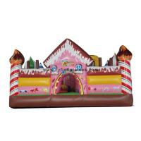 China Kids Inflatable Bouncer Hous , Inflatable Slide Castles Combo For Park on sale