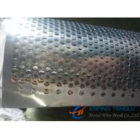 Quality Stainless Steel Round Hole Perforated Metal Coil, 0.2mm to 3mm Thickness wholesale