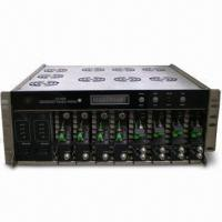 Quality Optical Transmission Platform with 19-inch 4U Case, Two Power Supply and Eight Function Modules wholesale
