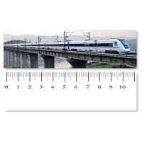 Quality Eco - Friendly Custom Printed Plastic Rulers / 3D Printing Service With Railway Pattern wholesale