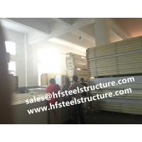 Quality Polystyrene Cold Room Insulation Panels 100 mm Thickness 10k g Density SGS CE wholesale