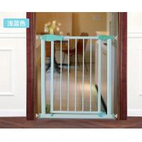 China Unique Door Babies Safety Gates / Child Safety Gates For Stairs Green on sale