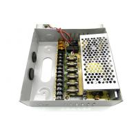 Quality 9 Channel CCTV Camera Power Supply , 12V 5Amps CCTV Power Supply Box wholesale