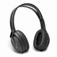 Buy cheap IR Wireless Headphones with Stereo Audio, 10m Working Range and Automatic Power from wholesalers