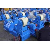 Quality Stainless Steel Vessel Turning Roll with PU Wheel Self Aligned Welding Rotators wholesale