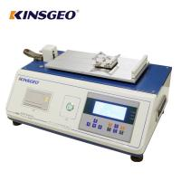 Quality Digital Display Plastic Film Sheet Static Coefficient Friction Tester with Curve wholesale