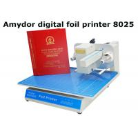 Quality High Efficient Plateless Hot Foil Machine For Card Making 300Dpi Resolution wholesale