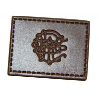 Quality leather elbow patches for sweaters , custom leather patches for jackets wholesale
