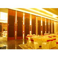 Quality Hanging Office  Aluminum Sliding Doors , Banquet Hall Partition Wall , Ceiling Track wholesale