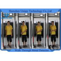 Quality Body Scanner Walk Through Gate Metal Detector Door Frame For Bank Projects , 300 Sensitivity Level wholesale