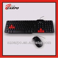 Quality hottest products on the market wired keyboard and mouse combo T400 wholesale