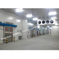 China Commercial PU Sandwich Cold Room Panel Walk In Freezer For Meat And Fish Storage on sale