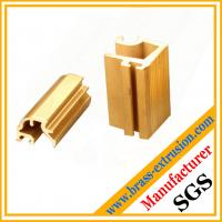 Quality decoration material brass alloy extrusion section wholesale