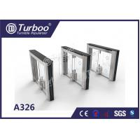 Quality Swing Access Control Turnstile Gate Accurate Logic Judgment And Infrared Reset Function wholesale