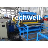 Quality 18 Forming Stations Automatic Double Layer Forming Machine For Roof Wall Panels With PLC Control wholesale