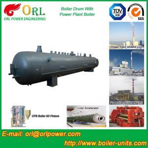 Quality High Pressure Vacuum Boiler Mud Drum For Heating Industry SGS Standard wholesale