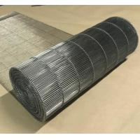 Quality Stainless Steel Flat Flex Wire Mesh Conveyor Belt For Drying And Cooling wholesale