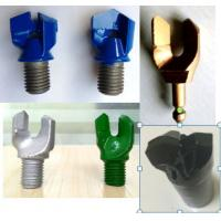 Quality Tungsten Carbide Tips Coal Mining Bit / PDC Double Wing Drill Bit High Strength wholesale