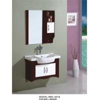 Quality 80 X49/cm PVC bathroom vanity / wall cabinet / hanging cabinet / walnut color for bathroom wholesale