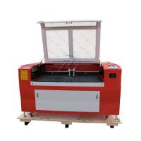 Quality Low Cost  Co2 Laser Engraving Cutting Machine for Stainless Steel /Acrylic/ Leather/ Wood with Double Heads wholesale