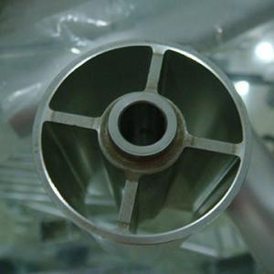 Quality Extruded Aluminium Industrial Profile Buff Anodizing ISO9001 / ISO14001/ OHSAS 1800 wholesale