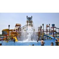 Quality Mermaid Theme Pour Bucket Water Playground Equipment Water Park Equipment wholesale