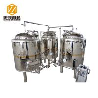 SLET Small Brewing Systems 1000L Three Vessels Brewhouse ISO Approved