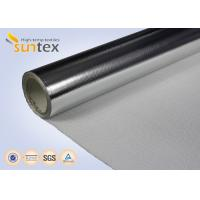 China 0.4mm Aluminum Foil Thermal Reflective Fabric For Heat Protection Glove And Apron on sale