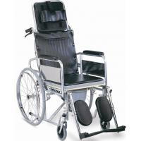 China Hoper mobility medical equipment foldable chromed steel commode chair on sale