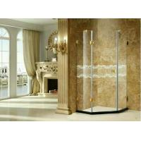 Quality Toughened Frosted Folding Glass Shower Partition Frameless Heat - Resistant wholesale