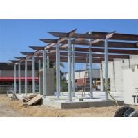 Quality Prefab Fireproof Car Showroom Building Light Steel Frame For Temporary House wholesale