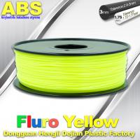 Quality Fluorescent ABS 3d Printer Filament ABS 3D Printing Material For Desktop Printer wholesale