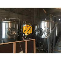 China 20HL Stainless Steel Fermentation Tanks With CIP Arm And Spraying Ball on sale