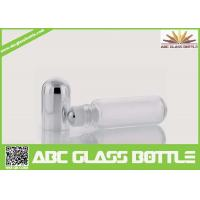 Quality 10ml Empty Clear Glass Roller Ball Bottle, 10ml Screw Cap Roll On Bottle China Wholesale wholesale