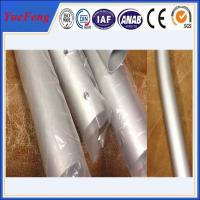 China CNC/drilling/bended aluminium pipes tubes specially for rack/tent,aluminium tent pipes on sale