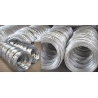 Quality SAE1006B, SAE1008B, SAE1010B BWG Hot Dipped Galvanized Wire Rod of Mild Steel Products wholesale
