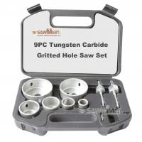 Quality 9PC Tungsten Carbide Gritted Hole Saw Set wholesale