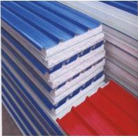Quality composite metal sandwich roof panel/EPS sandwich roofing wholesale
