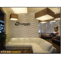 Cheap Eco Friendly Vinyl Wall Sticker 3D Textured Wall Panel Large Metal Art Wall with for sale